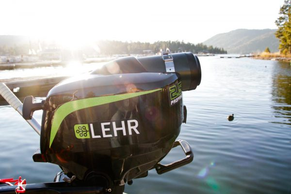 LEHR 2.5hp Propane Powered Outboard