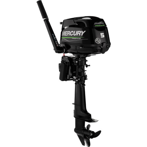 Mercury Marine 5 Propane Sail Power 5.0hp Fourstroke Outboard