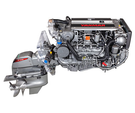 Yanmar 8LV-320 Powerboat Engine